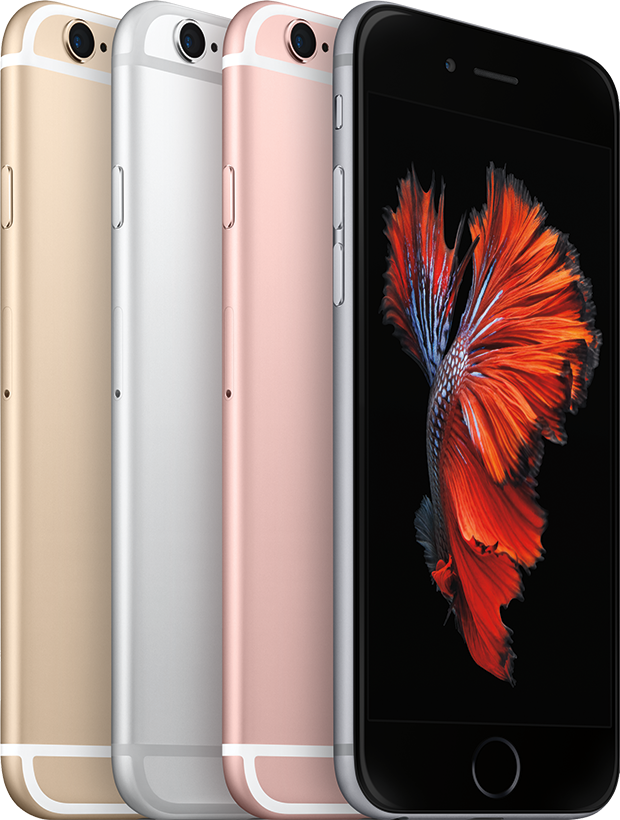 iPhones 6s colors