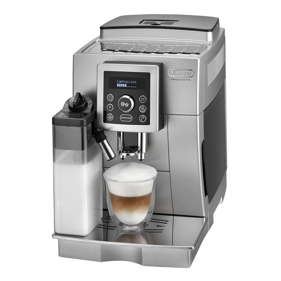 delonghi silver compact ecam23460s reviews. Black Bedroom Furniture Sets. Home Design Ideas