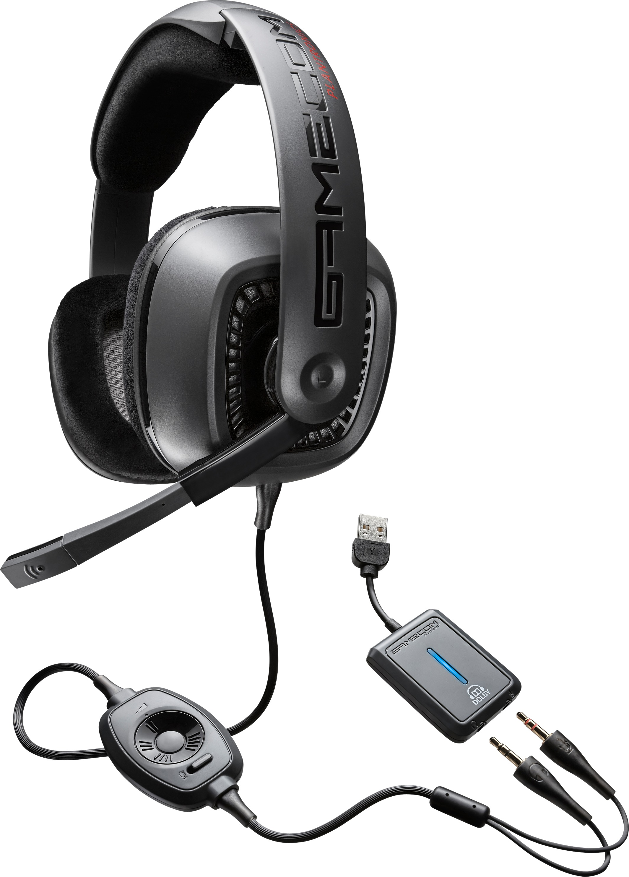 how to connect gamecon headphones to ps4