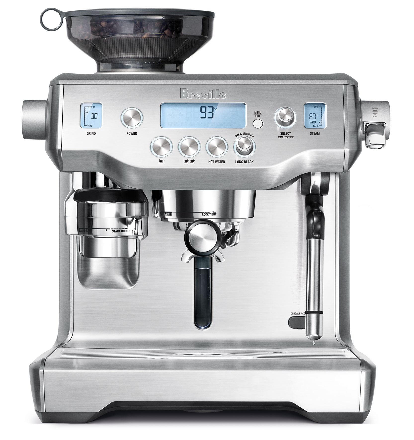 Breville Coffee Maker Esp2 : Breville The Oracle BES980 Reviews - ProductReview.com.au