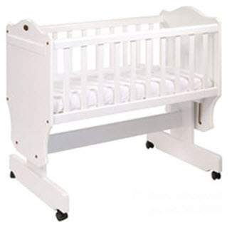how to stop baby rolling around in cot