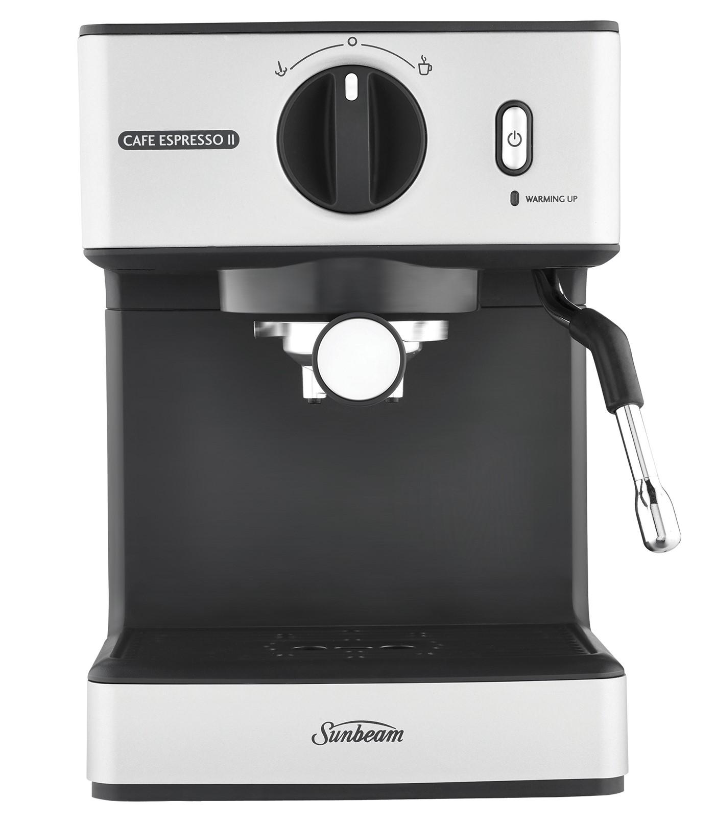 Sunbeam Cafe Espresso II EM3820 Reviews - ProductReview.com.au