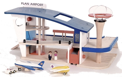 Outdoor Wood Finishing Products Wooden Airport Plan Toys