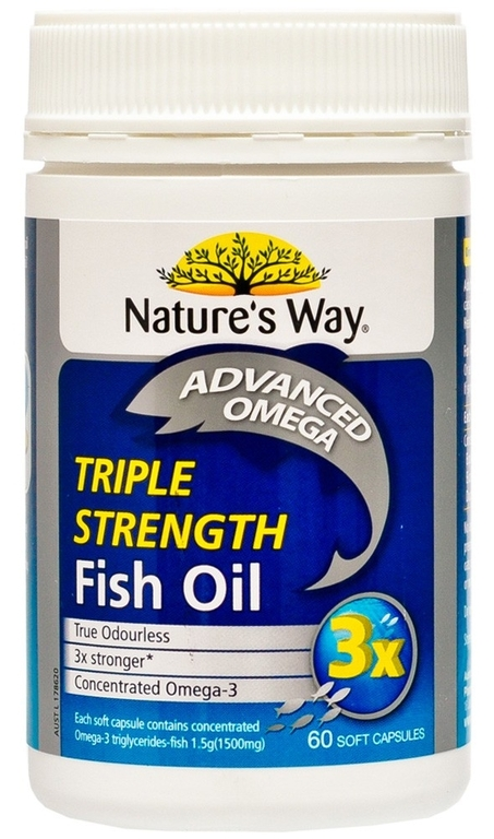 Nature 39 s way triple strength fish oil reviews for Nature made fish oil review