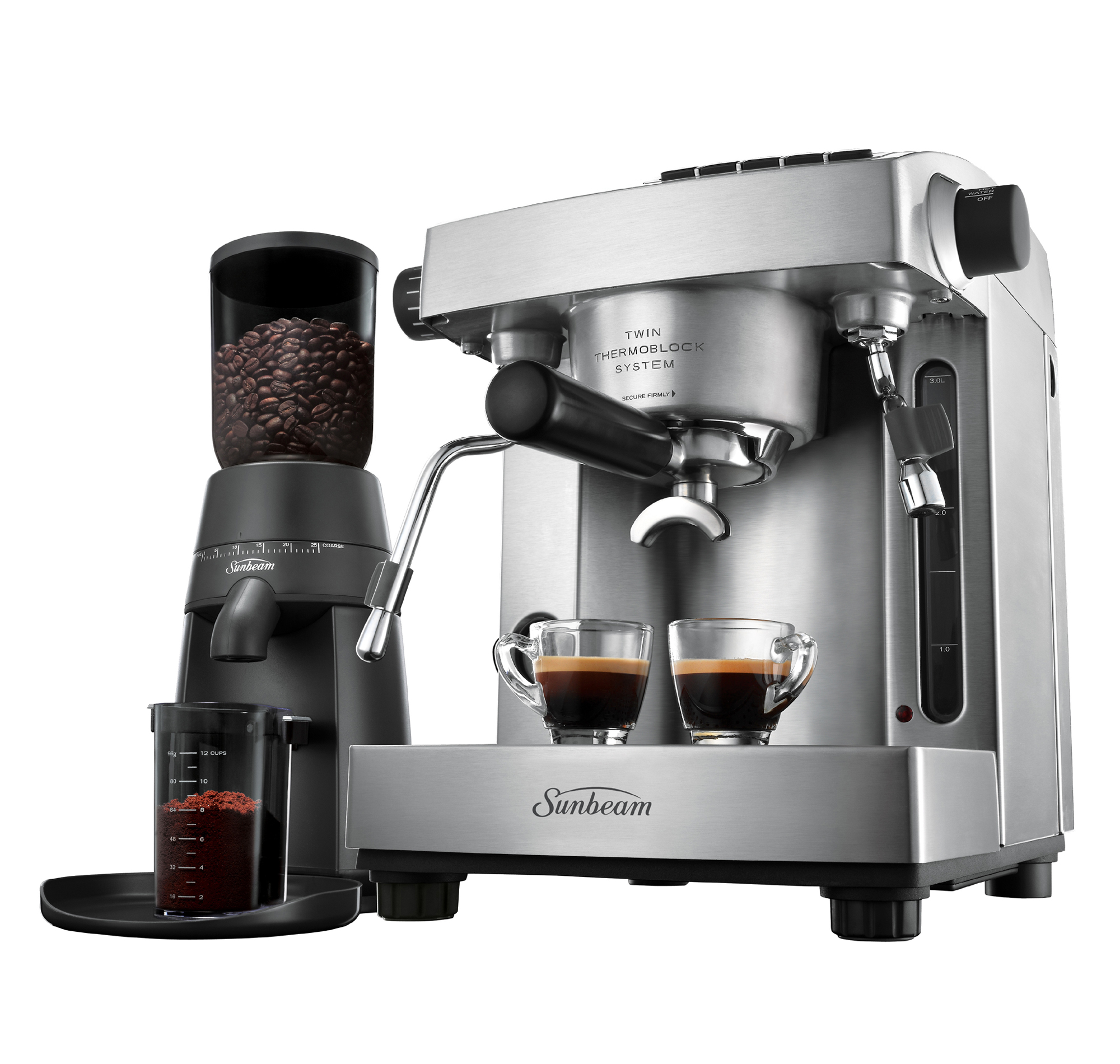 Sunbeam Cafe Series Espresso EM6910 / PU6910 Reviews - ProductReview.com.au