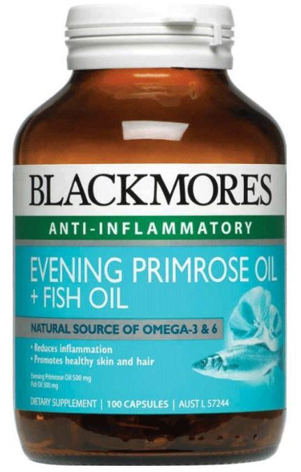 Blackmores evening primrose oil fish oil reviews for Fish oil and depression
