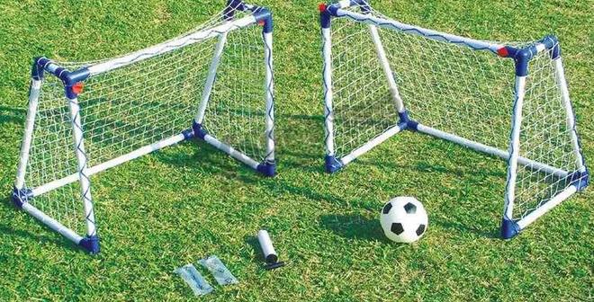 Детские футбольные ворота для дачи своими руками