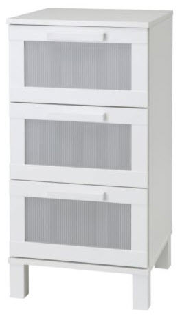 ikea aneboda chest of 3 drawers reviews. Black Bedroom Furniture Sets. Home Design Ideas