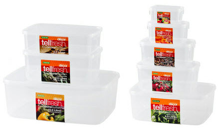Decor tellfresh reviews for Decor containers coles
