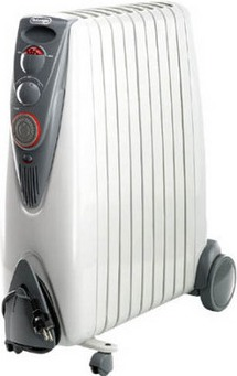 Radiator Space Heater for Silent and Even Heat by De'Longhi