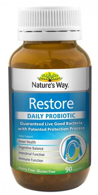 way nature probiotic restore daily natures productreview