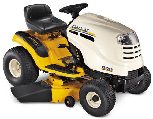 Cub Cadet Ltx 1042 Kw Lawn Tractor : Cub cadet hydrostatic lawn tractor lt reviews