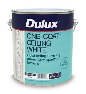 Dulux one coat ceiling paint reviews for One coat exterior paint reviews