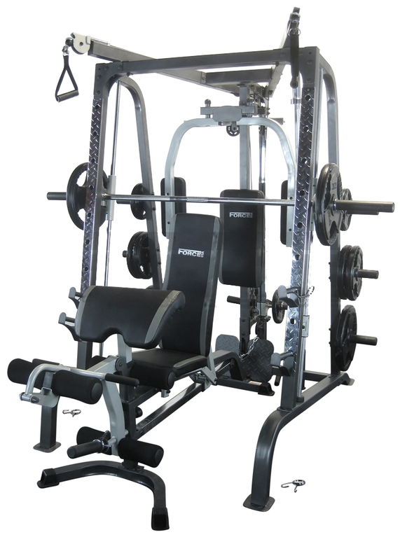 Force usa smith machine bench package reviews for Ab salon equipment reviews