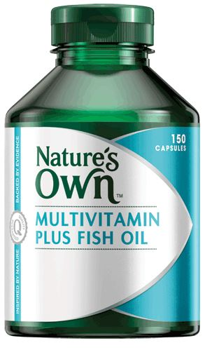 Nature 39 s own multivitamin plus omega 3 fish oil reviews for Nature s bounty fish oil review