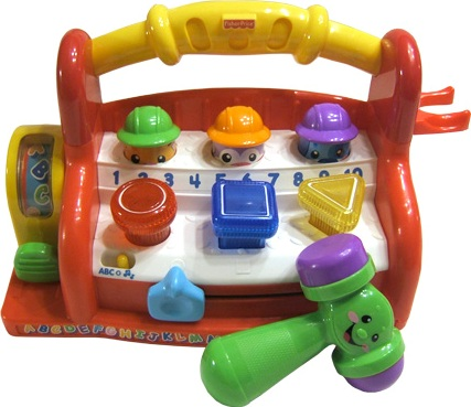 Fisher price laugh and learn piano images Fisher price tool bench