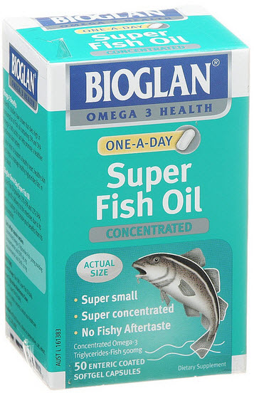 Bioglan one a day super fish oil reviews productreview for How much fish oil a day