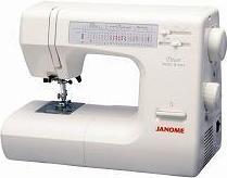 Электромеханическая швейная машина janome myexcel w23u