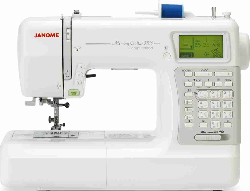 Janome Memory Craft P Accessories