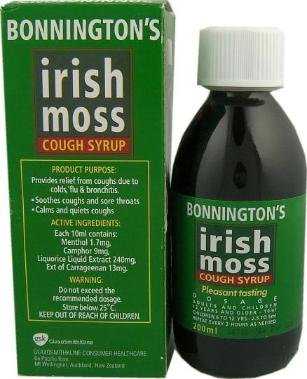 Bonnington S Irish Moss Cough Syrup Reviews