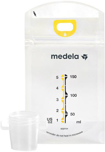 medela pump and save bags instructions