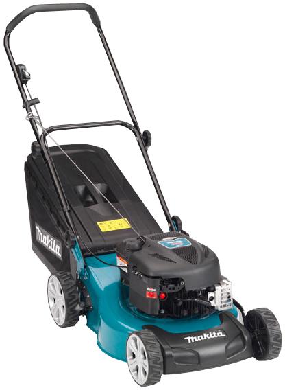 Makita 190cc Petrol Mulch And Catch Lawn Mower Plm4615p