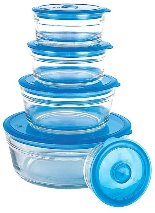 primex glass storage bowl set reviews. Black Bedroom Furniture Sets. Home Design Ideas