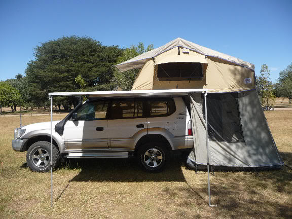 Luxury Roof Top Tent Trailer Camper Trailer With Roof Top