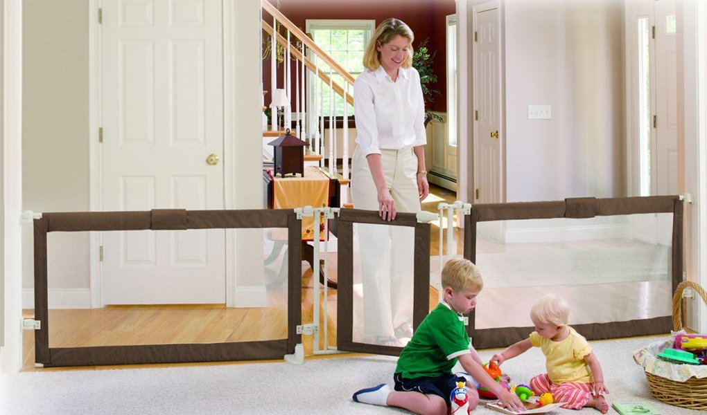 child gates for wide openings
