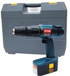 Ryobi 18 Volt Cordless Impact Drill / Driver Kit