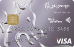 St.George Platinum Visa Card