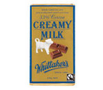 Whittakers 33% Creamy Milk Fairtrade