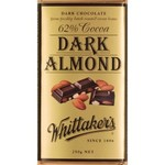 Whittakers 62% Dark Almond