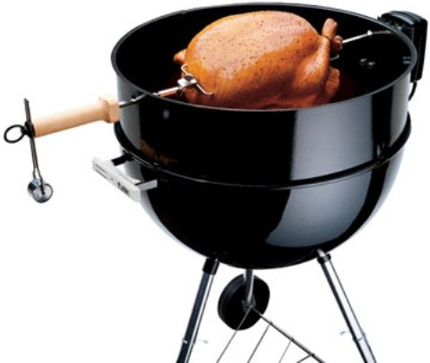 weber kettle rotisserie attachment reviews. Black Bedroom Furniture Sets. Home Design Ideas