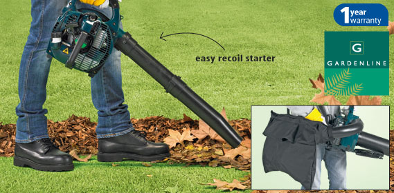 Gardenline aldi petrol blower reviews for Aldi gardening tools 2016