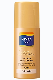 how to use nivea creme on face