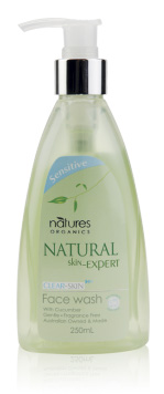 Natures Organics Face Wash