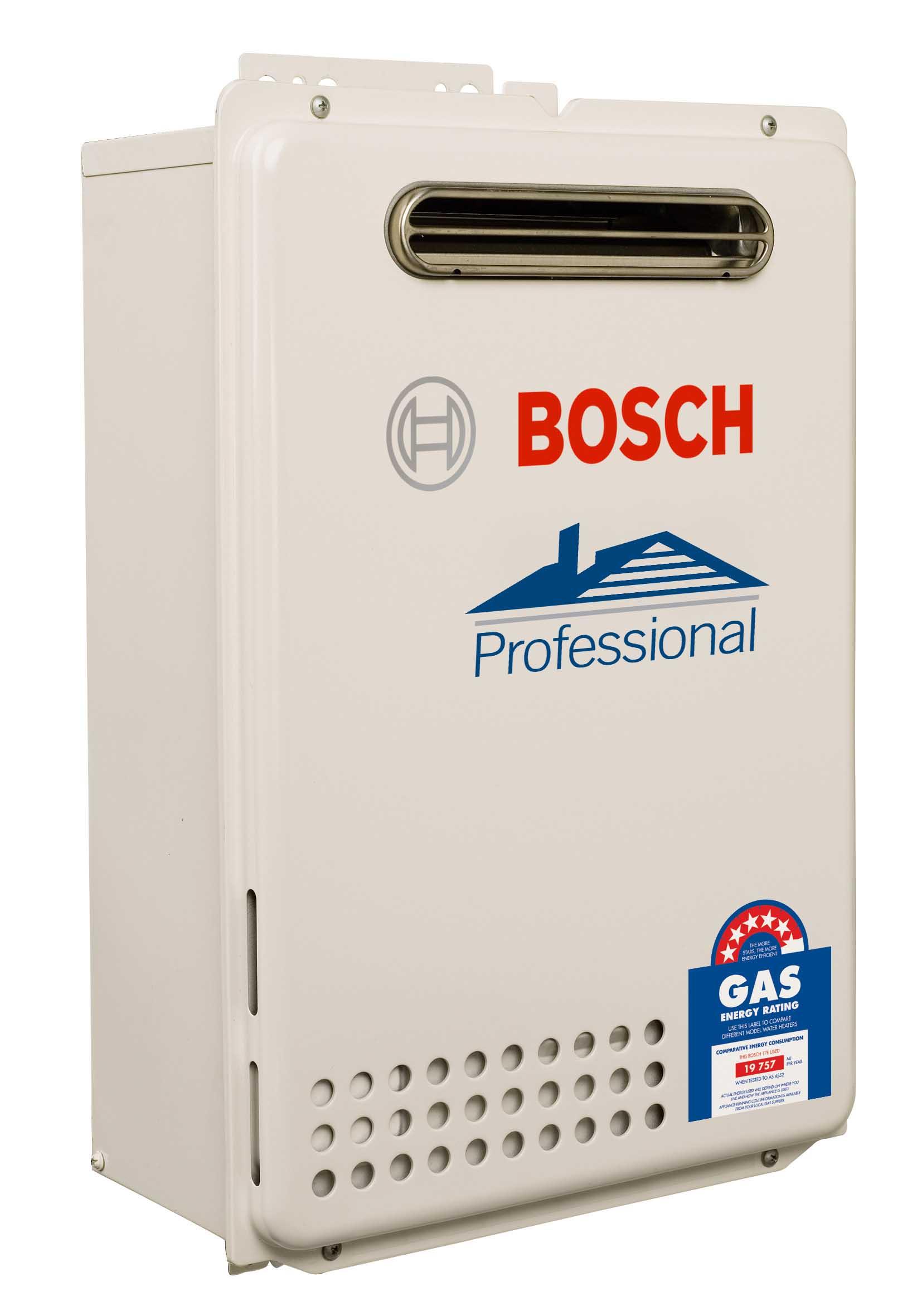Bosch Natural Gas On Demand Hot Water