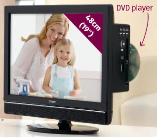 tevion 19 hd lcd tv with dvd player reviews. Black Bedroom Furniture Sets. Home Design Ideas