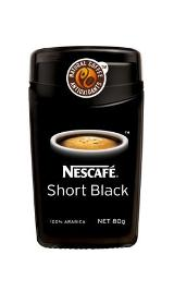 how to make a short black with instant coffee