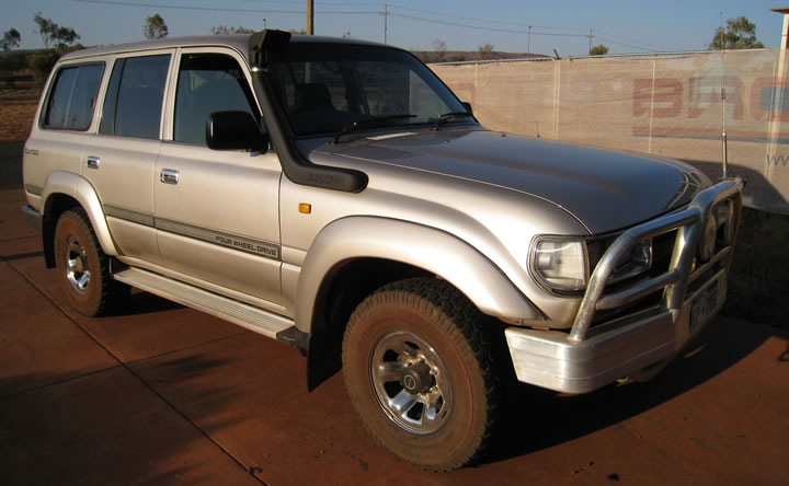 1989 1997 Toyota Landcruiser 80 Series on power wagon parts