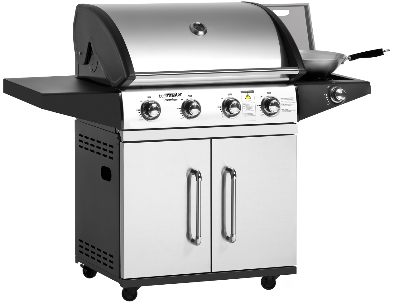 Beefmaster Premium BBQ with Side Burner Reviews ...