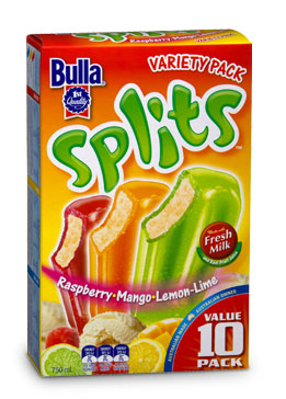 Bulla Ice Cream Splits Variety Reviews Productreview Com Au