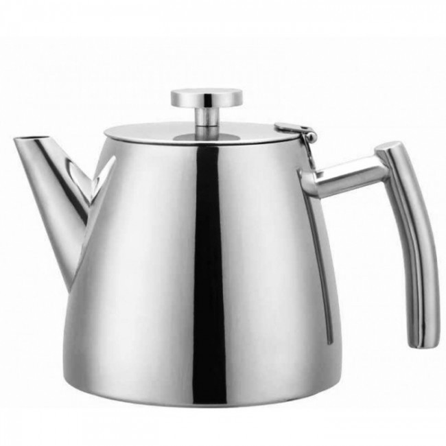 Thermos Double Wall Insulated Teapot Thermocafe Stainless