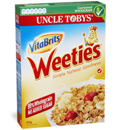 marketing campaign uncle tobys cereal kids