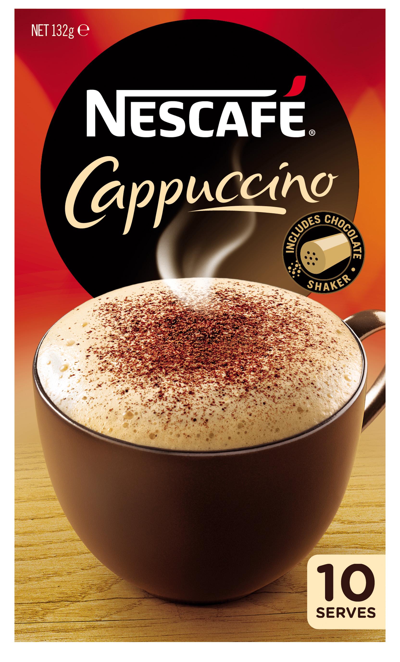 Nescaf 233 Caf 233 Menu Cappuccino Reviews Productreview Com Au