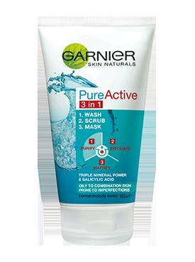 Garnier Pure Active 3 In 1 Wash Scrub Amp Mask Reviews