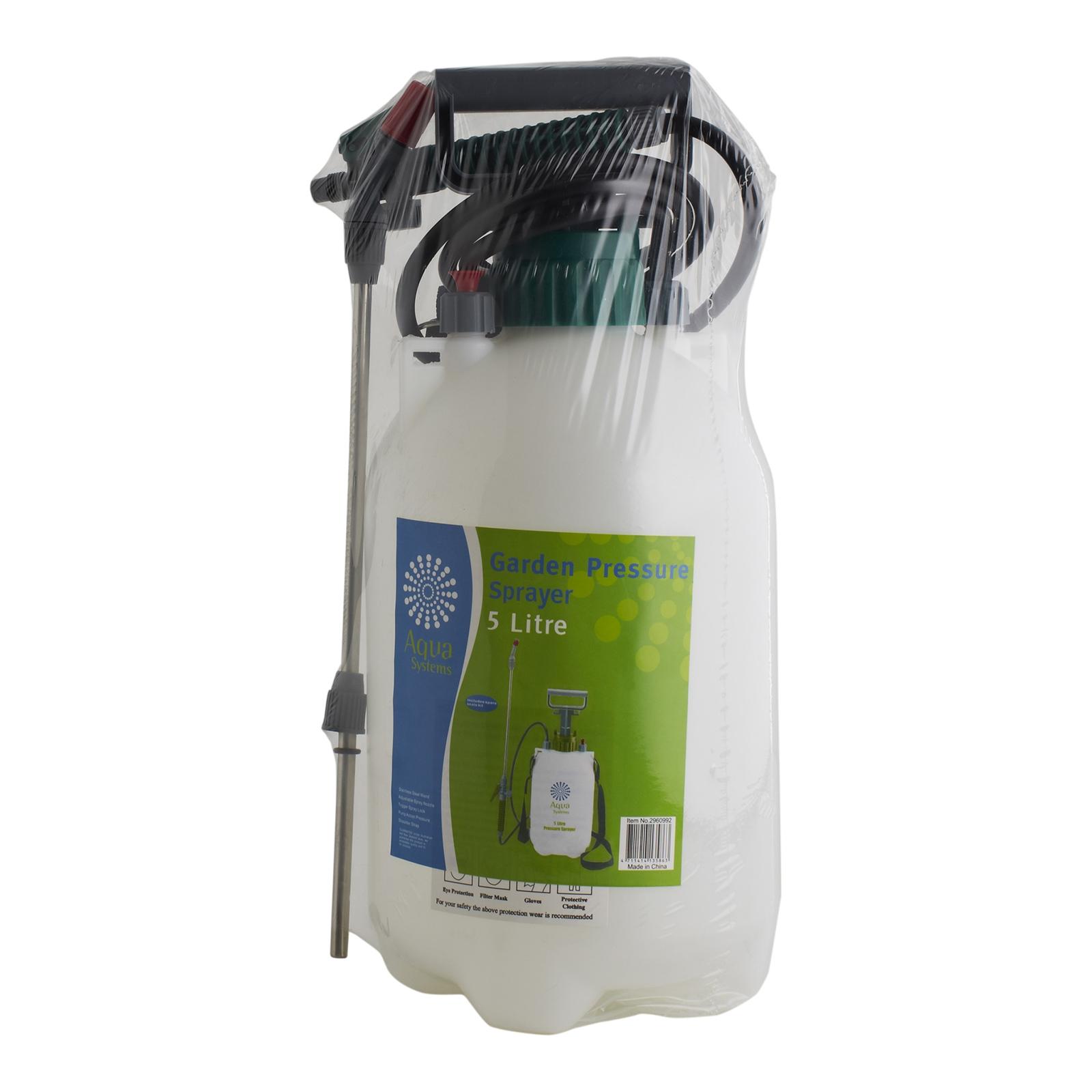 Aqua Systems 5l Garden Pressure Sprayer Kit Reviews