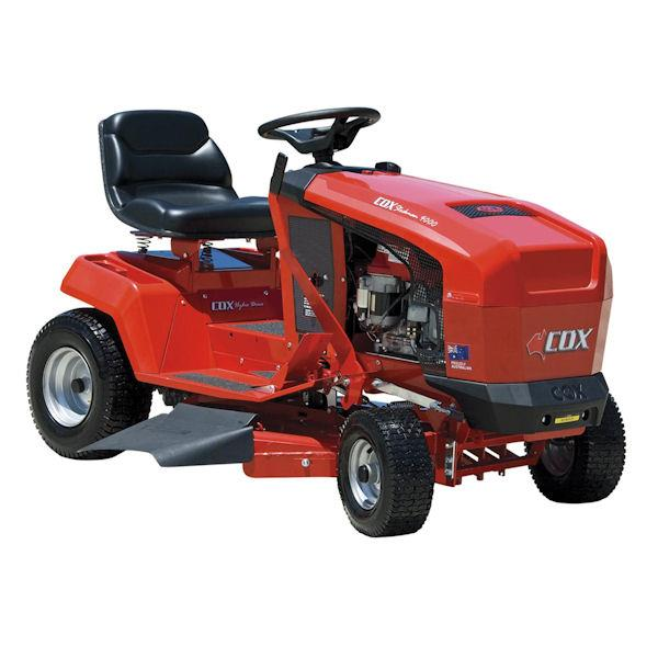 how to clean ride on mower