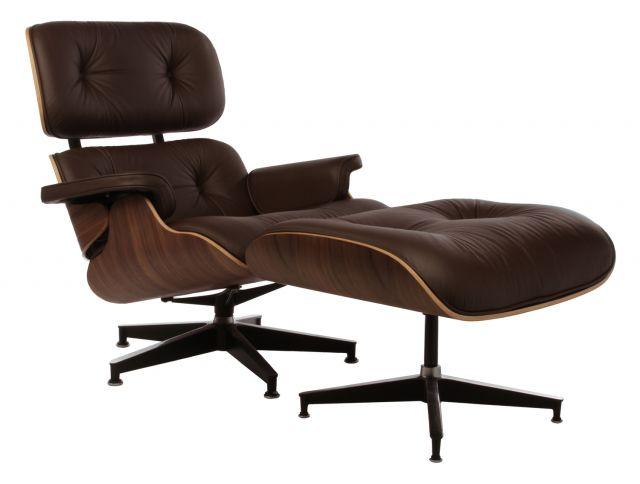 Matt Blatt Replica Eames Lounge Chair And Ottoman Premium